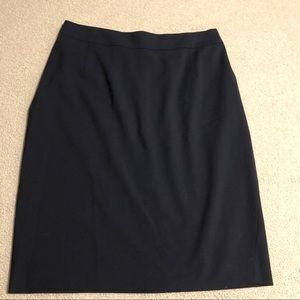 NWT Navy Pencil Skirt Joanie | Theory